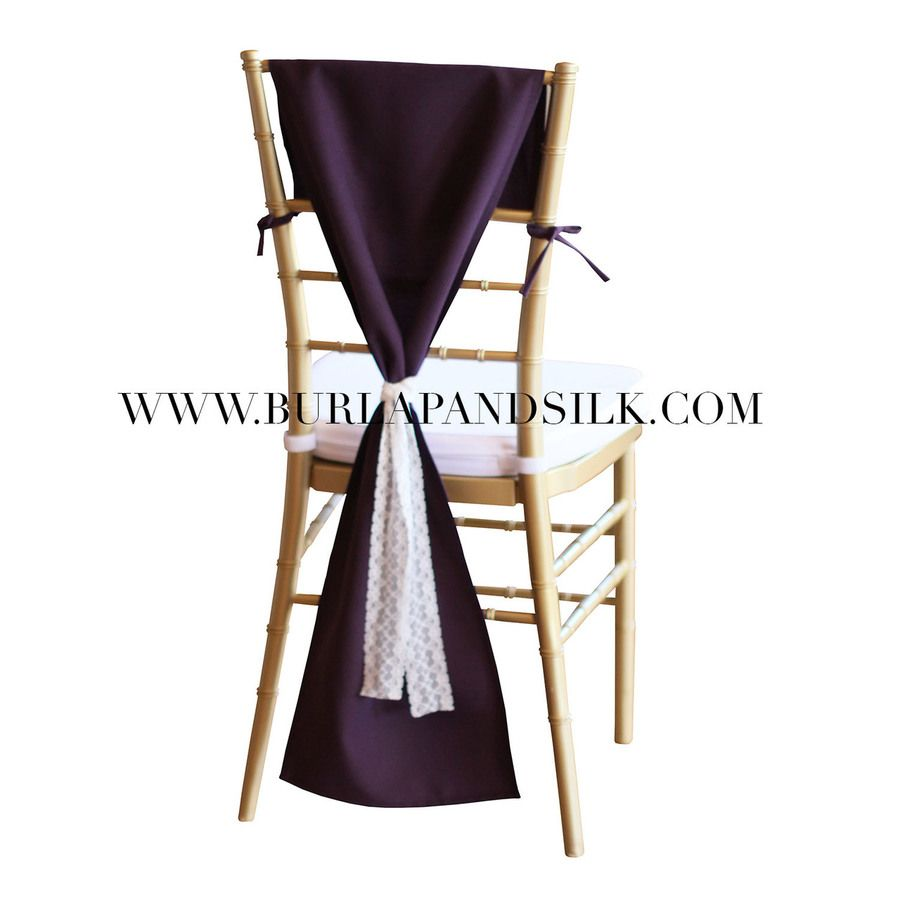 Plum Chair Hood