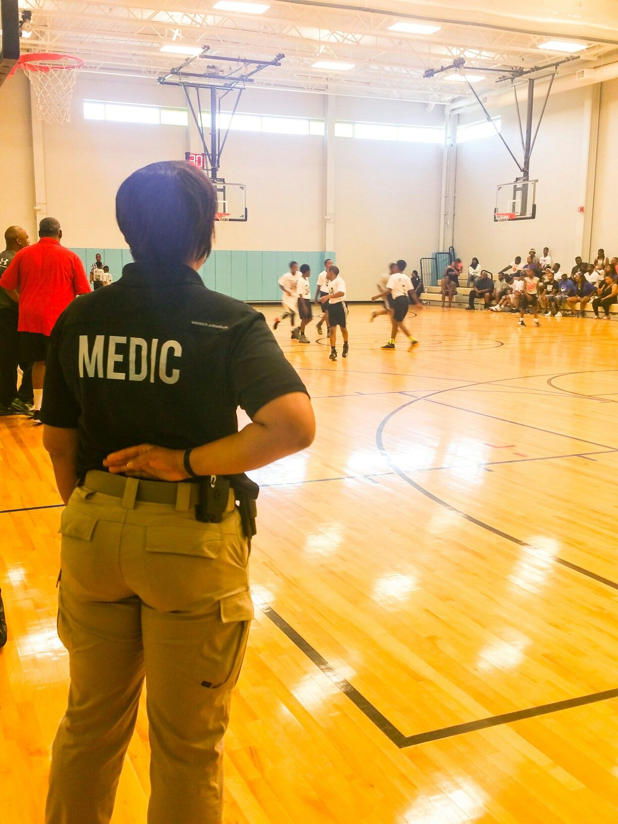 Medic, Sports Medicine Division, Youth Sports, Baltimore