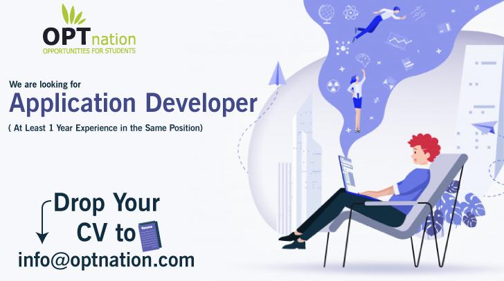 Application Developer In 2020 Development Job Seeker Application