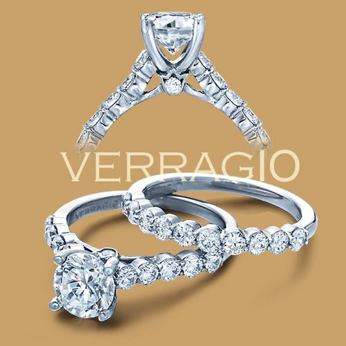 Radiant! Verragio Couture-0410SR Engagement Ring starting at $3,550