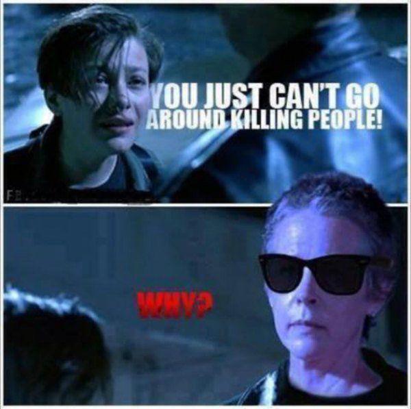 dedbefeaeedd77ae4e6edb87d124b5bc the walking dead season 5 memes are, as always, spot on (44 photos,Carol Meme Walking Dead