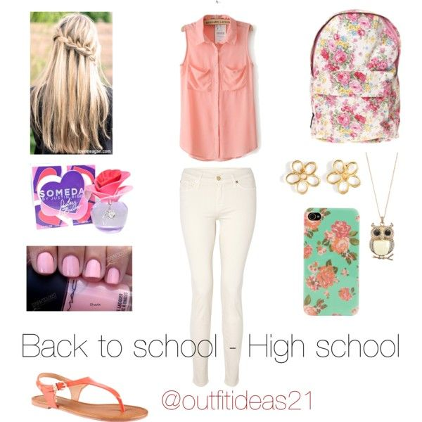 Outfit idea  back to school - high school  405baa86810