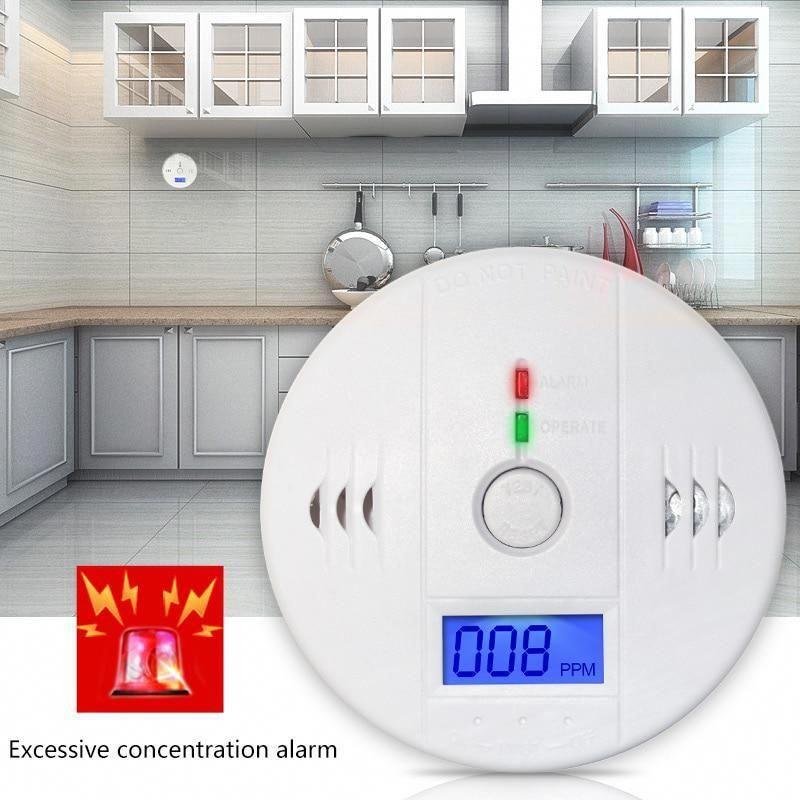 High Sensitive Carbon Monoxide Tester Alarm CO Gas Leakage Detector LCD Display