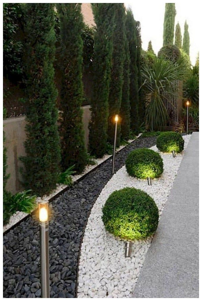 32 Creative Home Front Landscape Design Ideas: 41 Fresh And Beautiful Side Yard Landscaping Ideas On A Budget 32 (With Images)