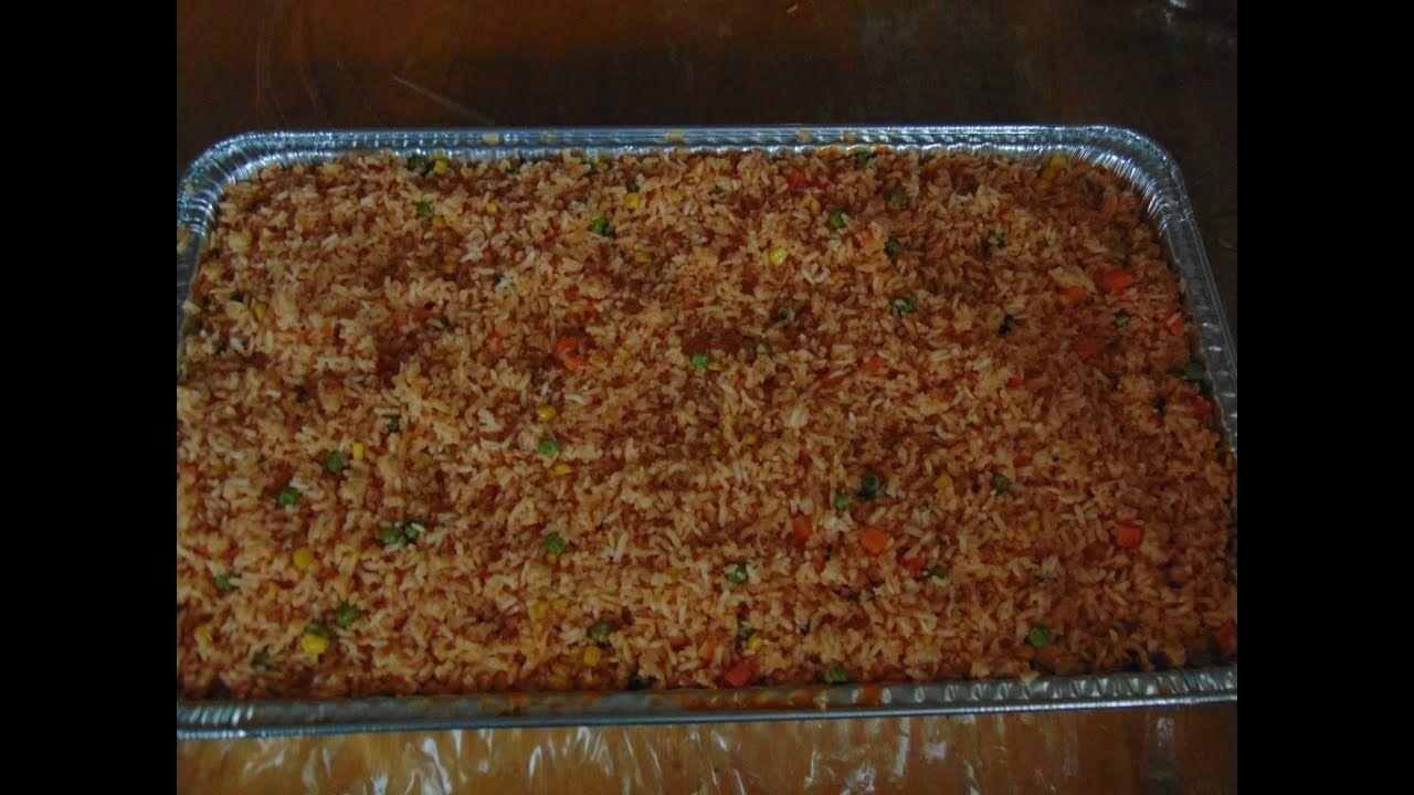 cuanto arroz hacer para 40 personas