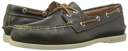 4ac2cab9d75 Sperry Men s A O Waterloo Boat Shoe Green Sz 11M US NEW  fashion ...