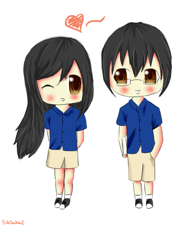 Pics For > Cute Anime Chibi Couples Tumblr Cute anime