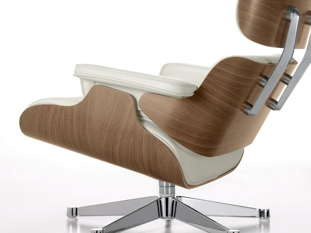 Delicieux Vitra Eames Lounge Chair   White Walnut By Charles U0026 Ray Eames   Chaplins