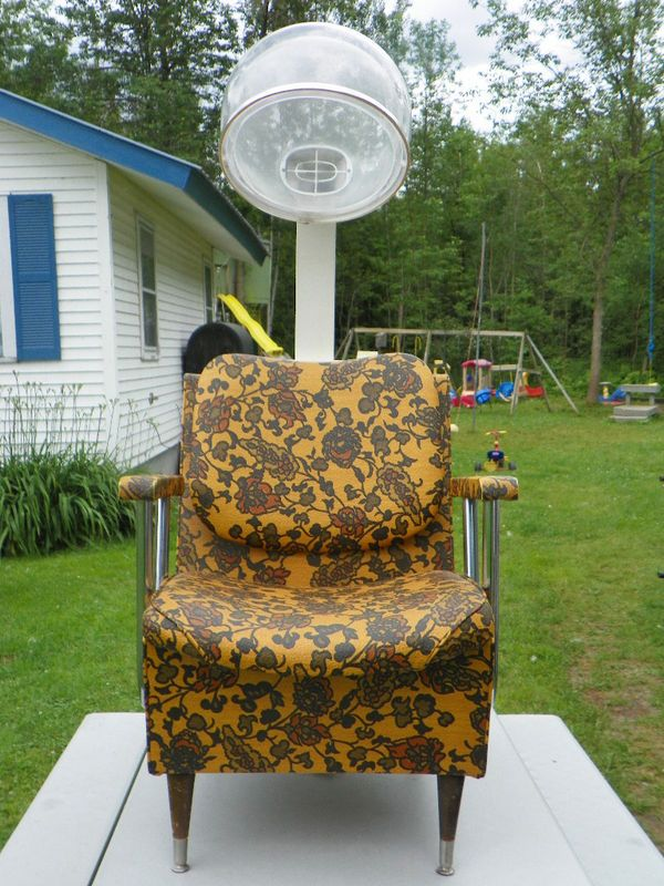 d5327f0e84cb7e Vintage Retro Helene Curtis Hair Dryer w/ Raymond Chair | Vintage ...