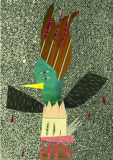Giuseppe Caverna, collage para la revista minima =)