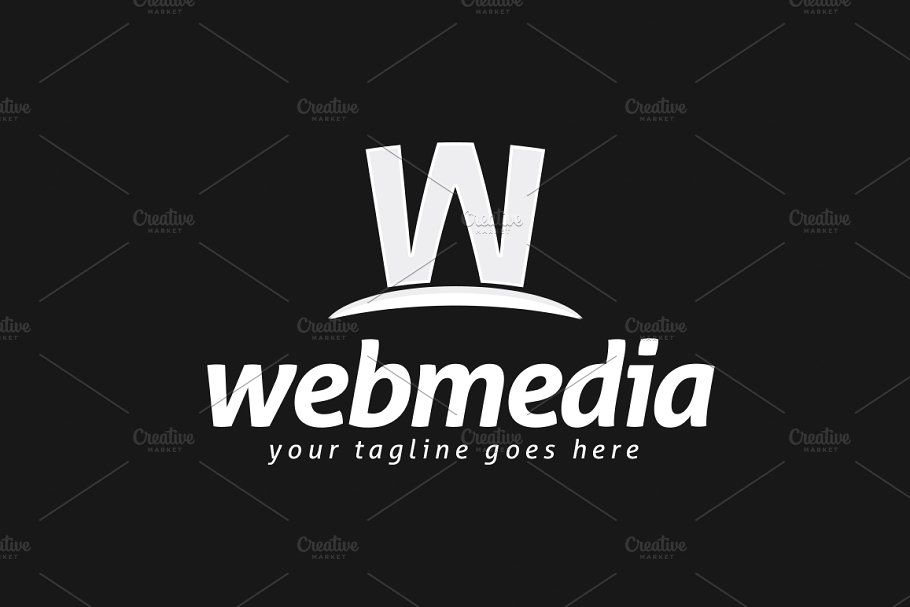 Webmedia Logo Template