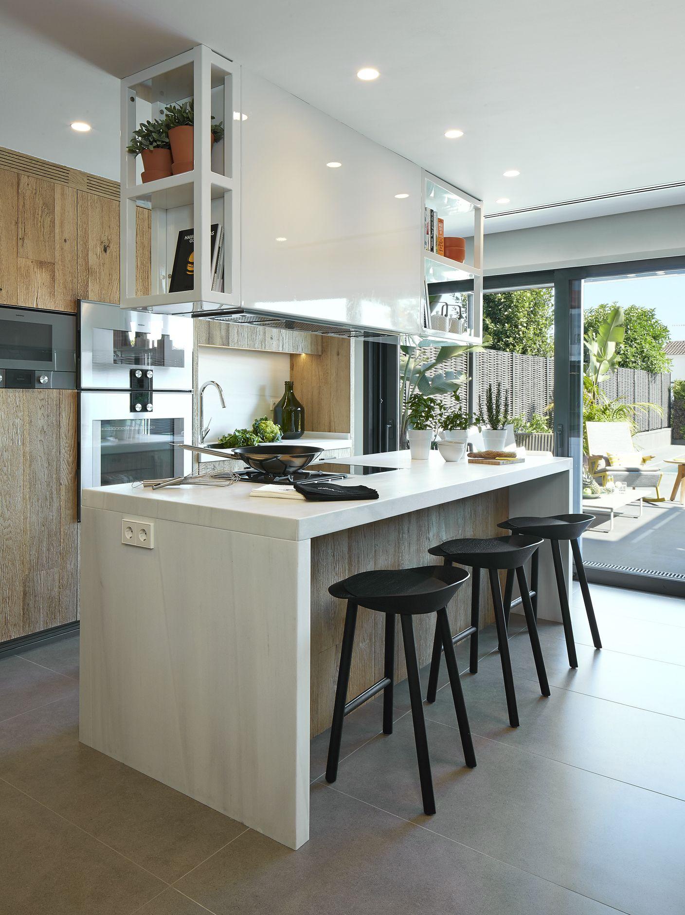 Molinsdesign dise os de cocinas modernas con un toque for Cocina moderna tipo buffet