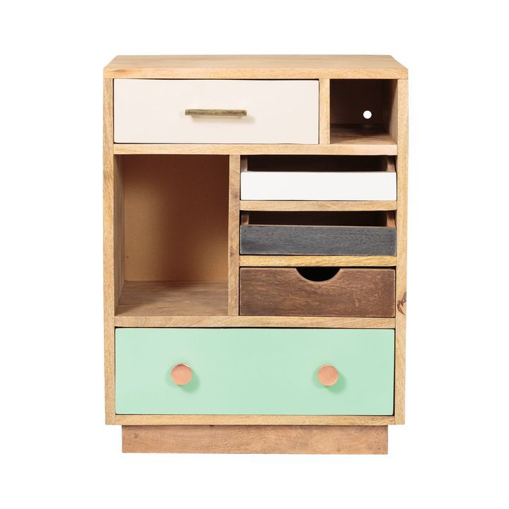Halle Wooden Bedside Cabinet - Right | Our room | Pinterest