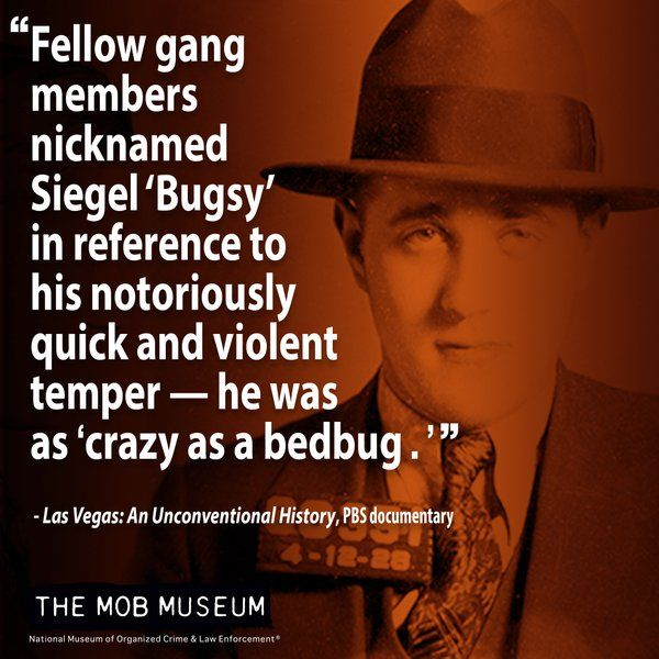"""Frank Costello Quotes: How """"Bugsy"""" Siegel Got His Nickname"""