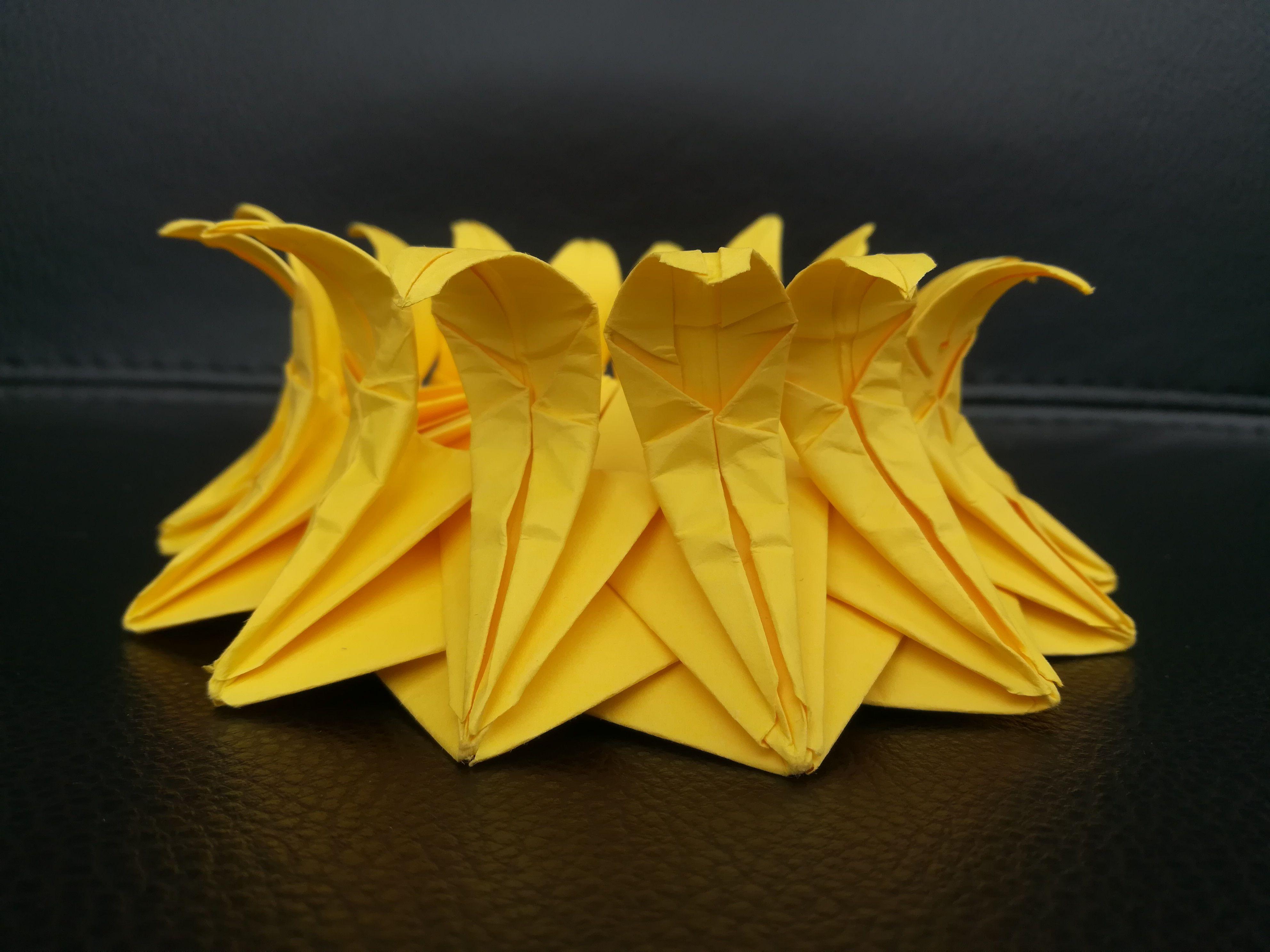 Origami Sun Flower Origami Pinterest Origami And Craft