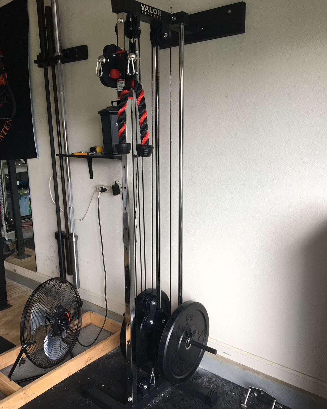 62 Wall Mount Cable Station Home Gym Equipment At Home