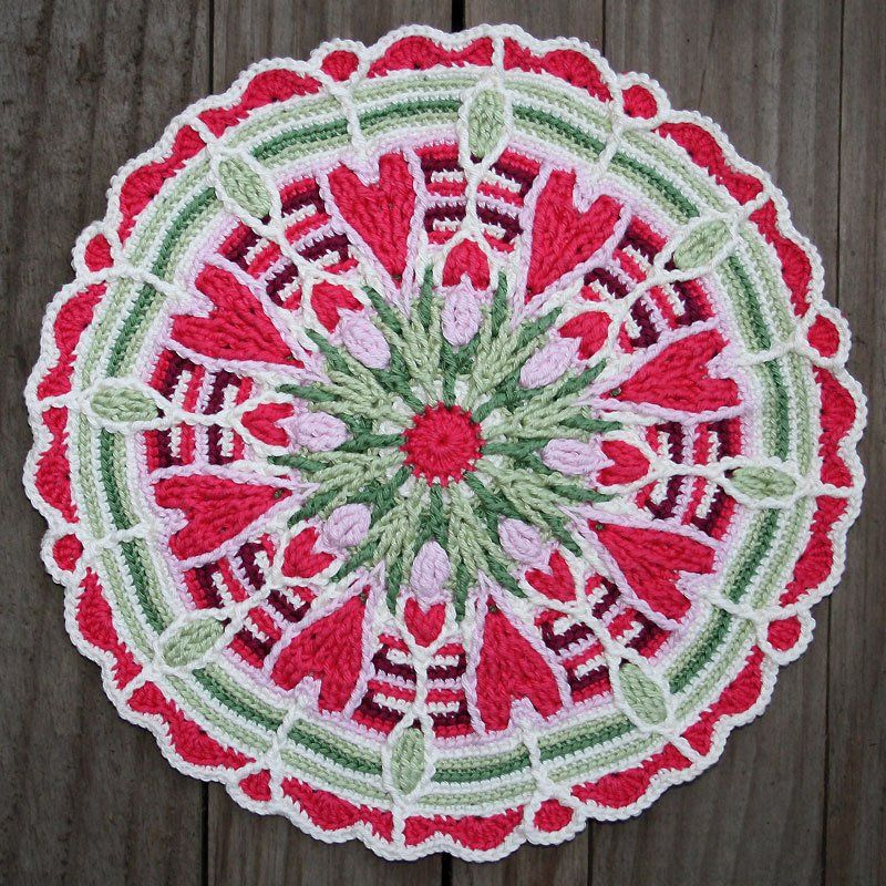 CAL: overlay mandala! Join our crochet-a-long and get a discount to purchase this amazing overlay mandala pattern! :)