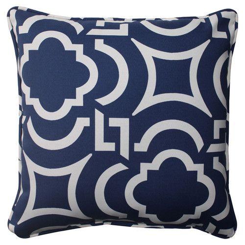 Carmody Corded Throw Pillow (Set of 2)
