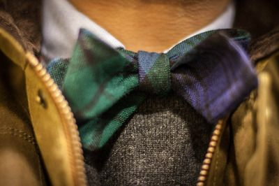 perfect fall/winter bow tie