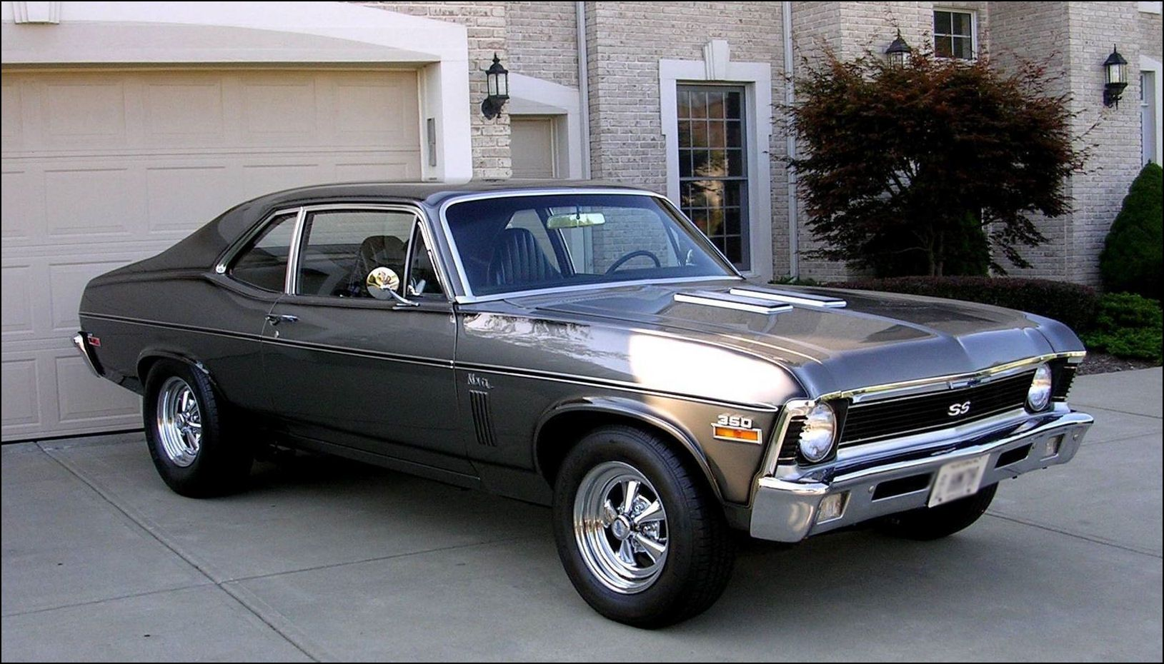 I Would Drive This One I Would Drive It Right Up To My Mother S House And Hand Her The Keys And The Title We Mi Chevy Nova Chevrolet Nova Chevy Muscle