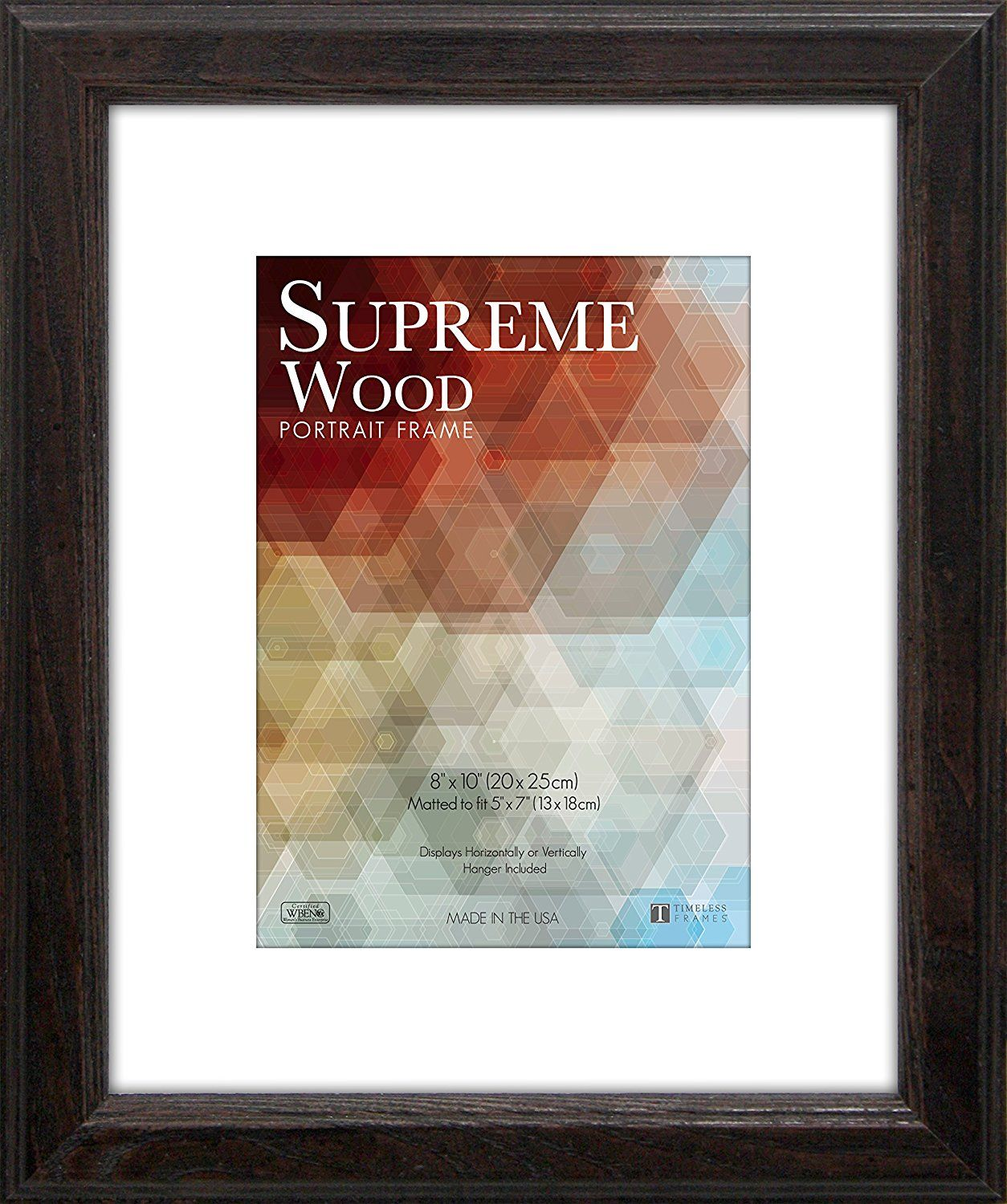 Amazon Com Timeless Frames 12x16 Inch Fits 9x12 Inch Photo Supreme Solid Wood Wall Frame Espresso Home A Wood Picture Frames Picture On Wood Frames On Wall