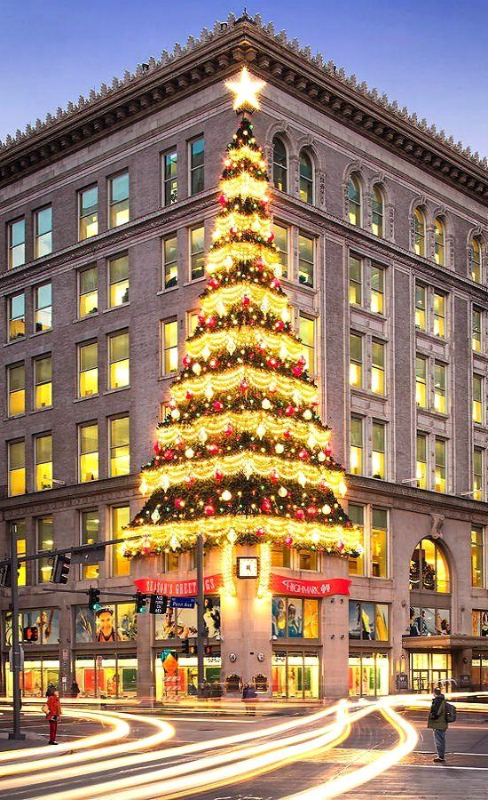 Christmas In Pittsburgh, Pennsylvania, United States by Emmanuel
