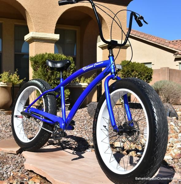 New Aluminum Frame Bahama Fat Tire Beach Cruisers