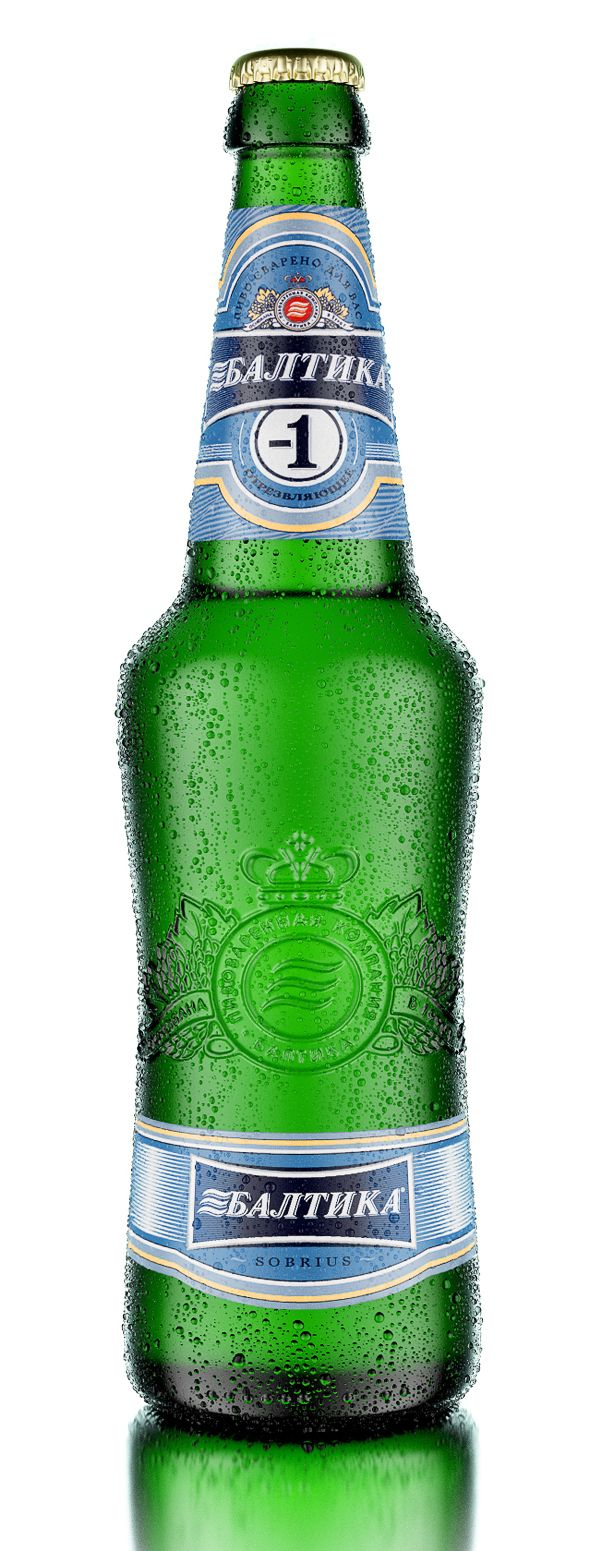 Baltika Sobrius by Александр Докучаев, via Behance