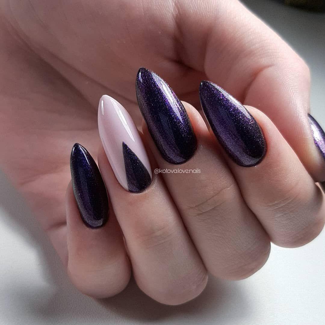 Privet Devaaachki Ya Vzyala V Ruki Svoyu Len I Reshila Vylozhit Neskolko Rabot Za Proshlyj Mes Sejchas Budet Spam P S U Baryshn Types Of Nails Nail File Nails