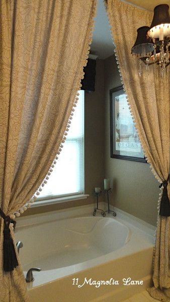 Bathroom Decor Ideas: Luxurious Shower Curtains | Pinterest ...