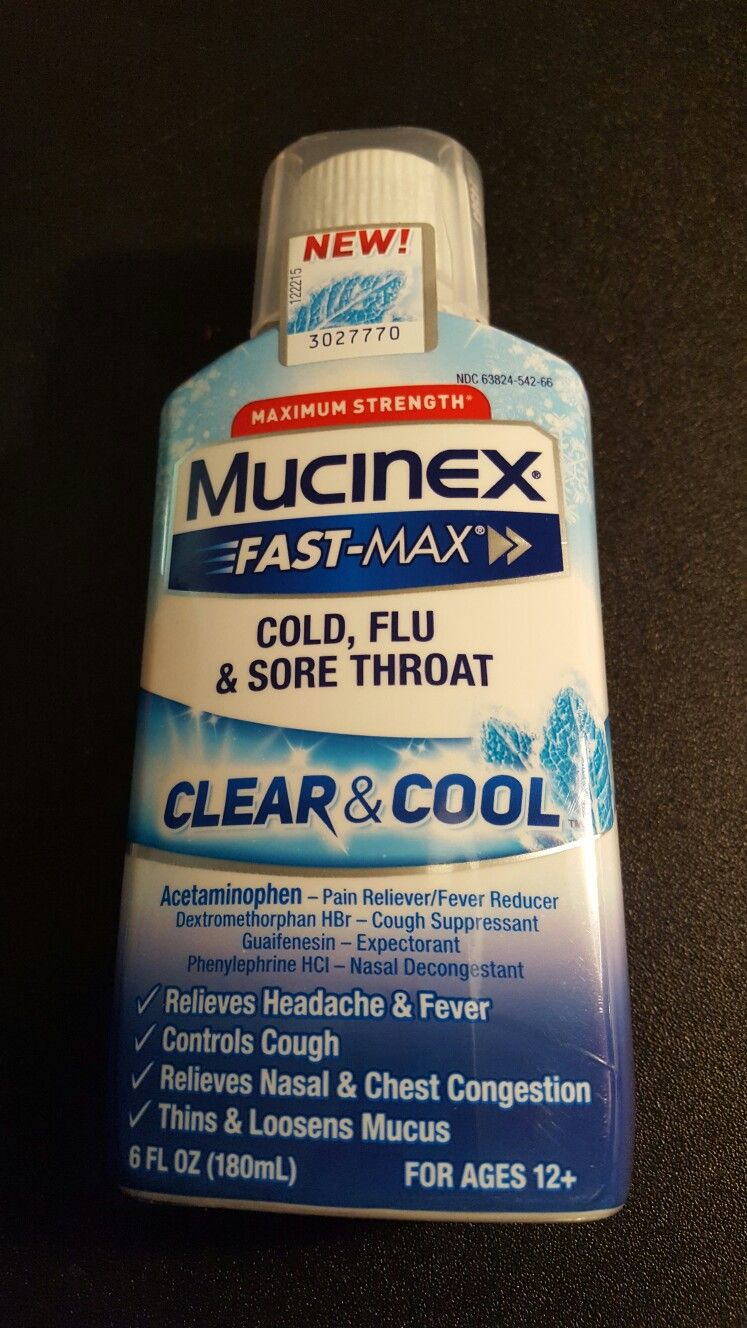 mucinex fast max clear cool works super fast to ease the mucinex fast max clear cool works super fast to ease the congestion felt during