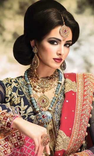 bridal asian How apply makeup to