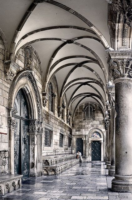 The Rector's Palace, old town, Dubrovnik, Croatia | Palace