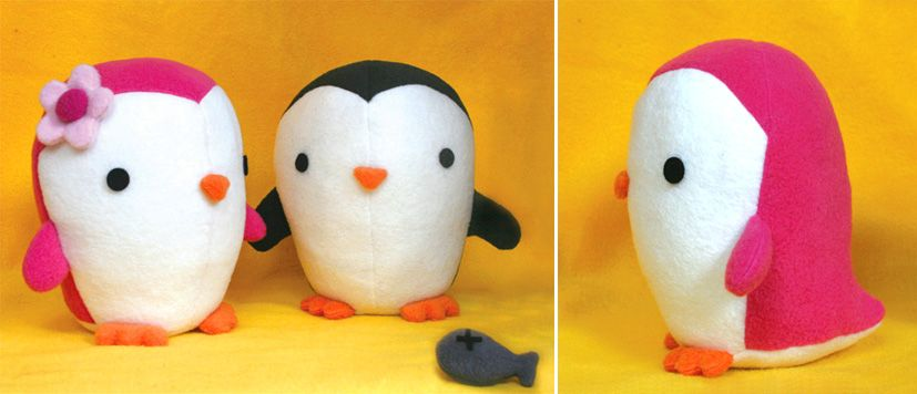 penguin sewing pattern | Craft | Pinterest | Penguins, Sewing ...