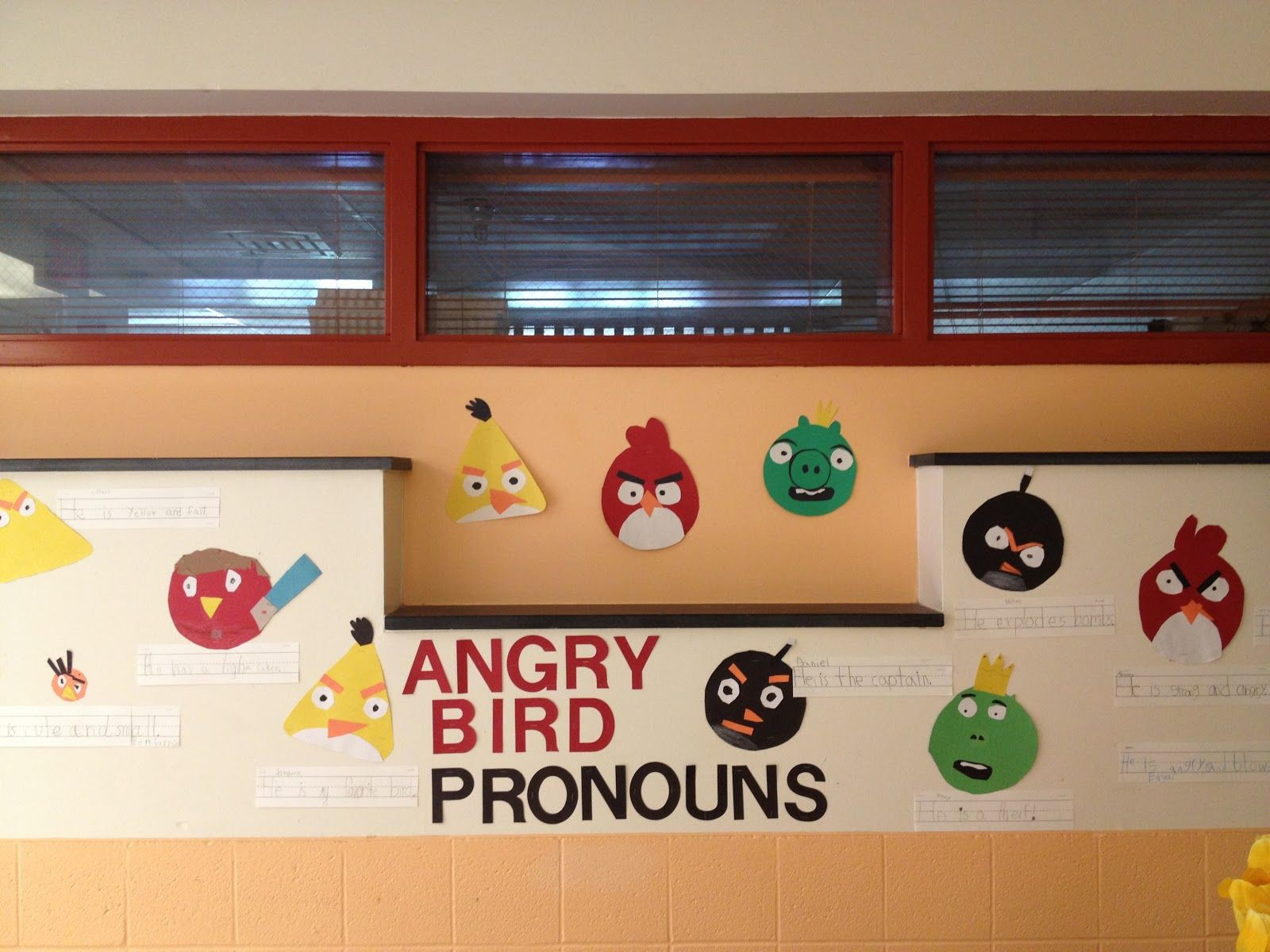 First Grade Spies Angry Bird Pronoun Fun And A Freebie