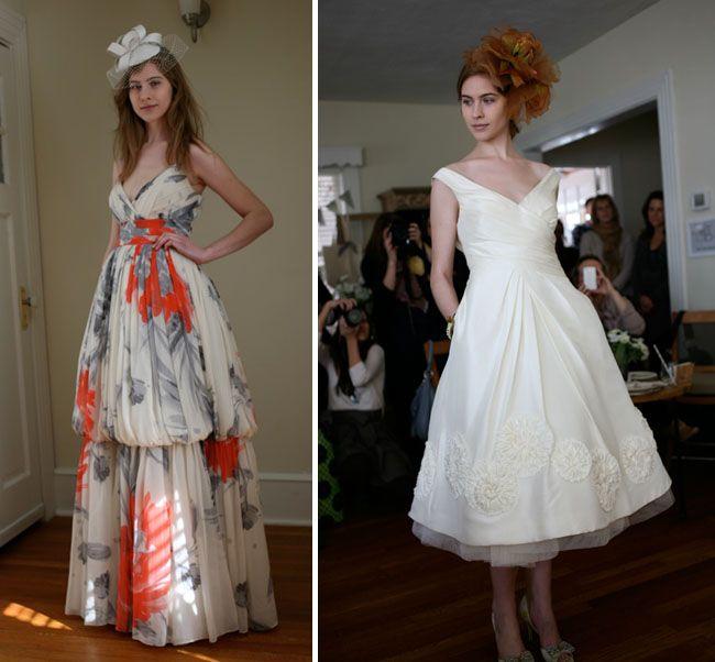 Anthropologie Wedding Gown: My Trip To See The BHLDN Wedding Brand - Part 1