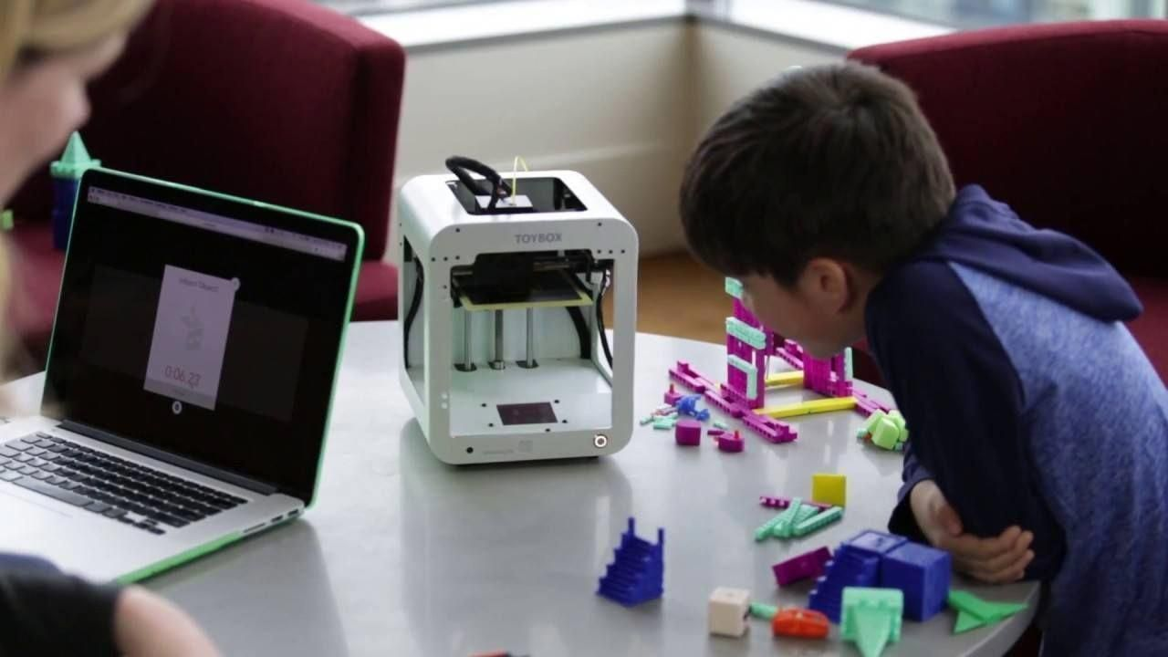 Vr Vrgames Drone Gaming Toybox Your Kid S First 3d Printer 3d