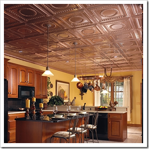 hopefully copper tiles are in the future above the bar - Copper Ceiling Tiles