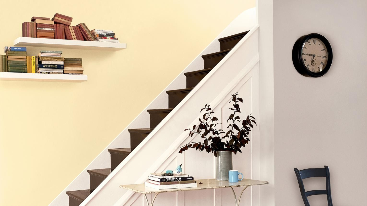 Add warmth and light to a hallway with cream   Home - Hall ...