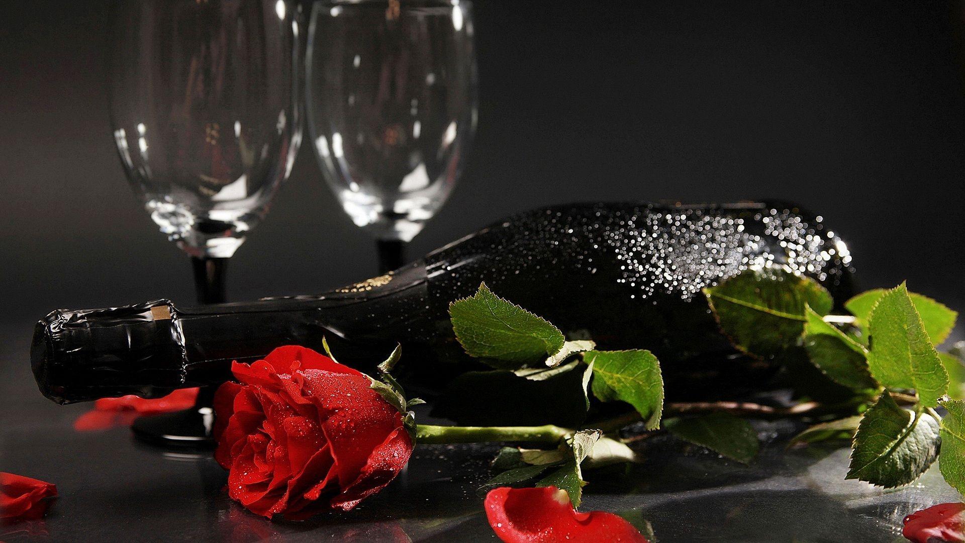 Rose And Wine Hd Wallpaper At Wallpapersmap Com Wine Wallpaper Wallpaper Flowers Wine Gif