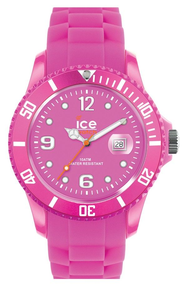 Hot pink watch  Perfect Valentine s day watch!   Time for Love fb8dd1a85c50
