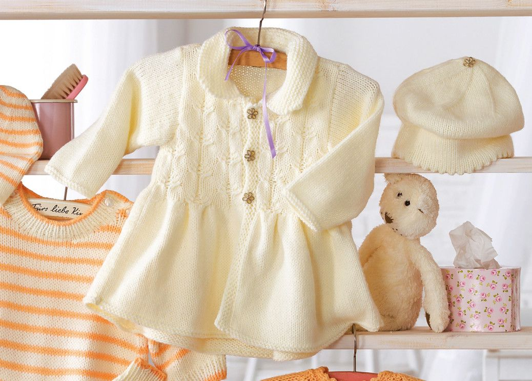 Kinder-Jacke mit Zöpfen | knitting children | Pinterest | Kinder ...