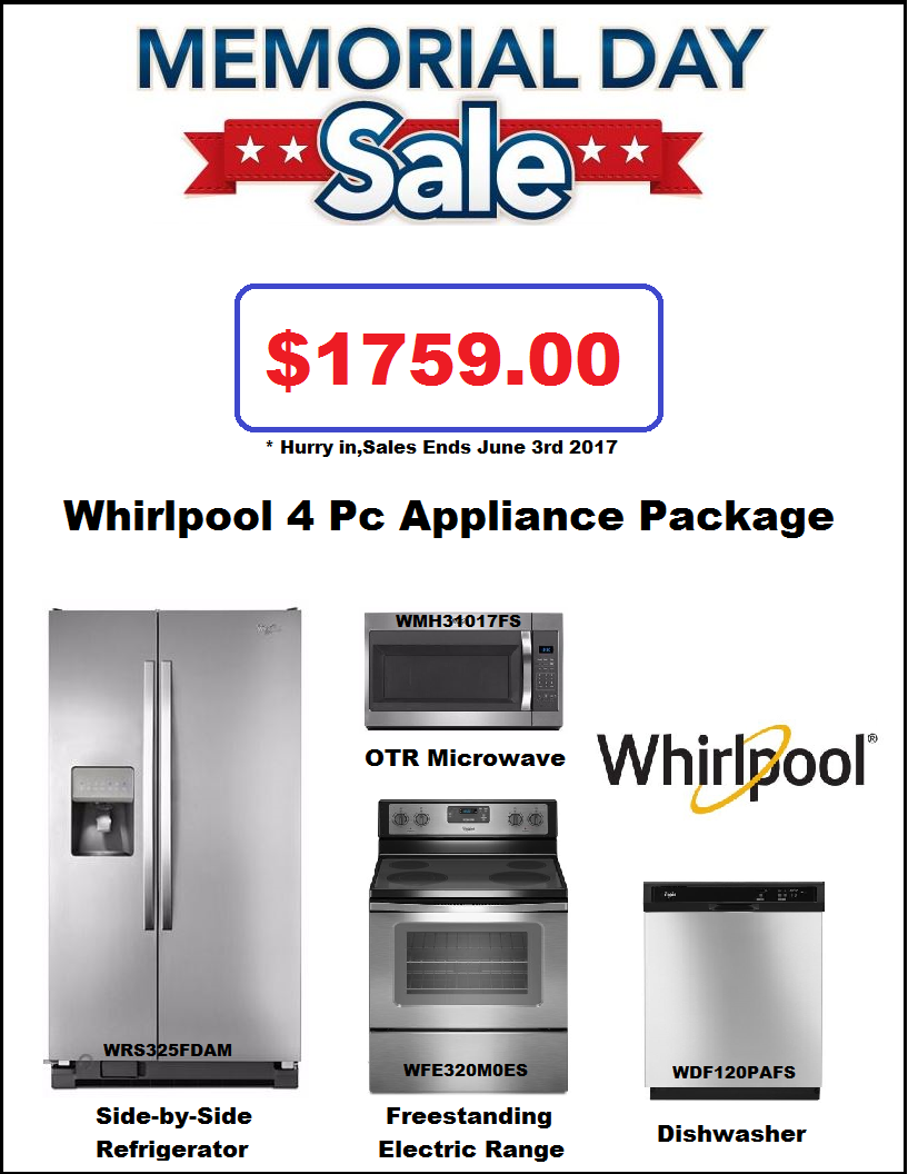 Appliances Packages Sale Whirpool Appliance Package Deal Discount Appliances Pinterest