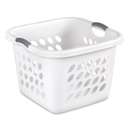 Sterilite 1 5 Bushel Ultra Square Laundry Basket White Set Of 4