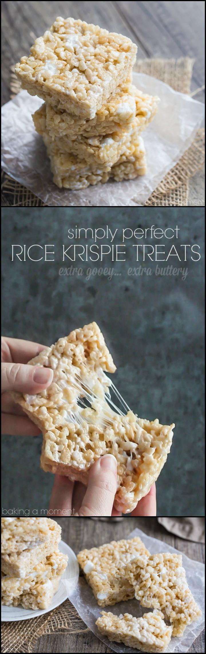 Simply Perfect Rice Krispie Treats