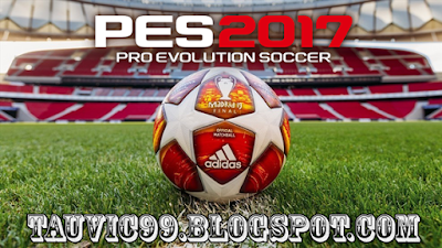 Update New Patch PES 2017 by tauvic99 Berdasarkan database