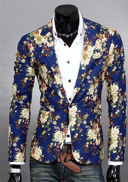 ba725d2b1e5 Floral Design Blazer