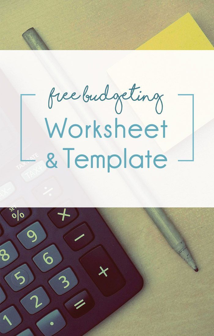 Free Worksheets Budgeting Worksheets Worksheets And Personal Finance