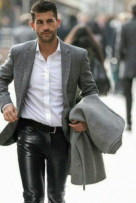23 Best Men's Leather Boots images | Mens outfits