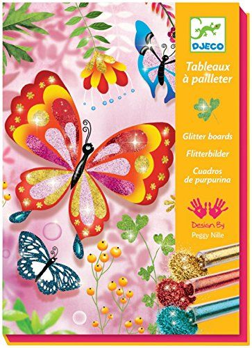 Djeco Glitter Butterflies Click Here For More Details Paint